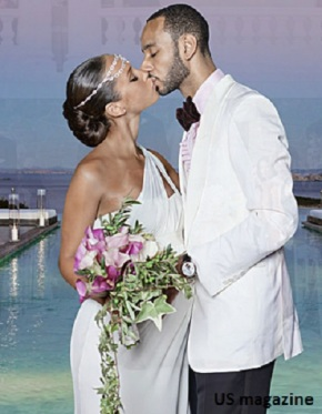 "Alicia Keys & Swizz Beatz ""The Kiss"""